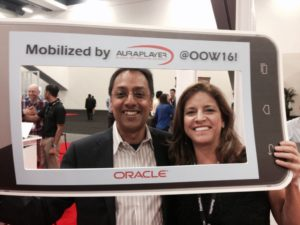 We were honored to be mobilized with Sri Ramanathan, Group VP of Oracle Mobile himself!