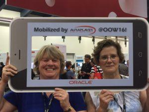 Dawna and Kim are mobile champions!