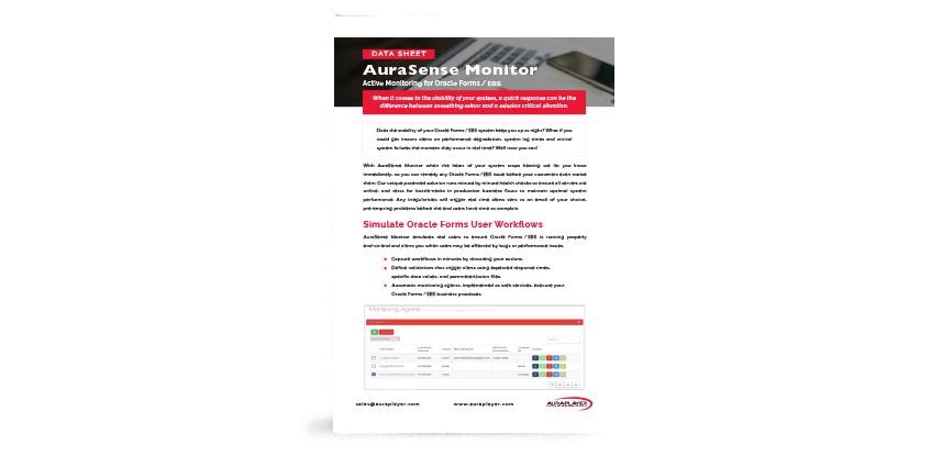 AuraSense Datasheet